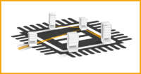 Store electronic components: with Modula warehouses, it's easy and safe