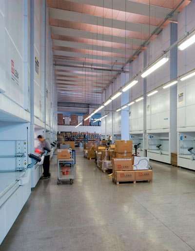 Advice for efficient warehouse organisation and management