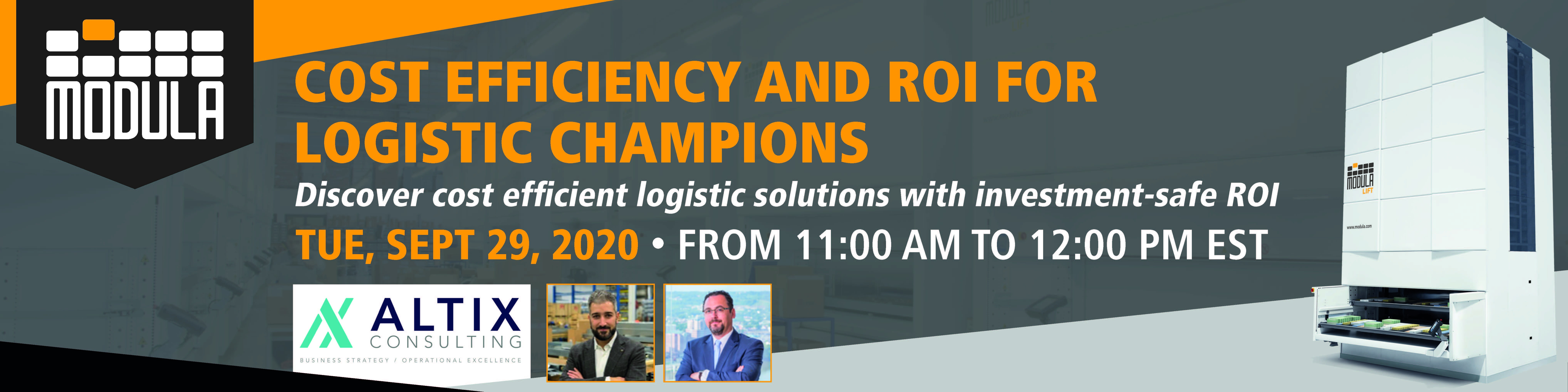 Webinar USA Cost efficiency and ROI